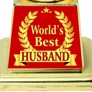 AARK INDIA Best Husband Trophy