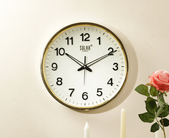 Solar Wall Clocks India