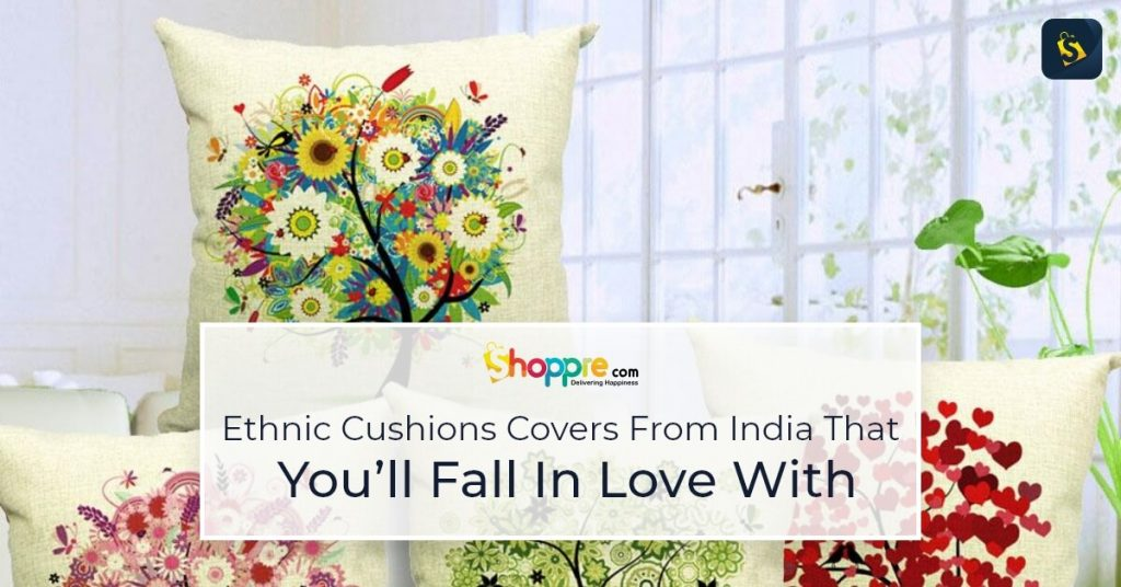 ethnic cushion covers india shipping