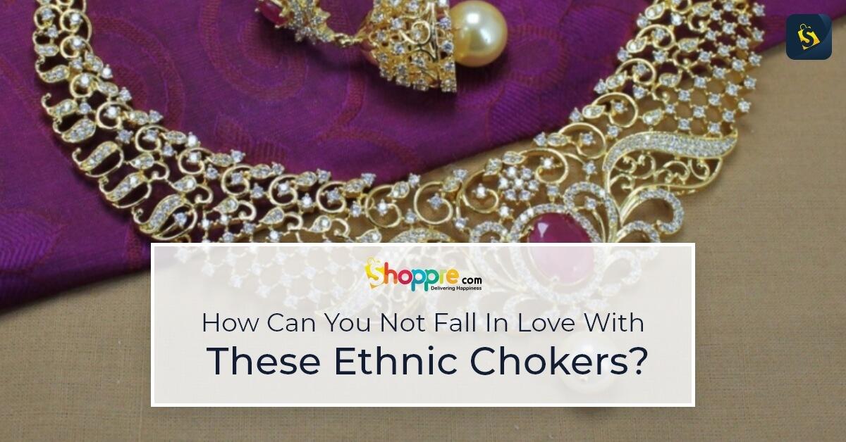 ethnic chokers online india