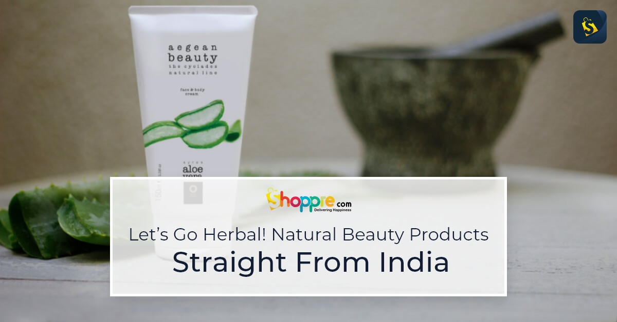 natural beauty products from india