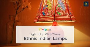 ethnic indian table lamps