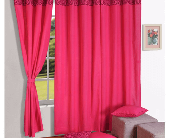 Eyelet Curtain by Swayam
