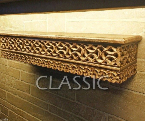 Shelf Carved Shelve Mughal Work