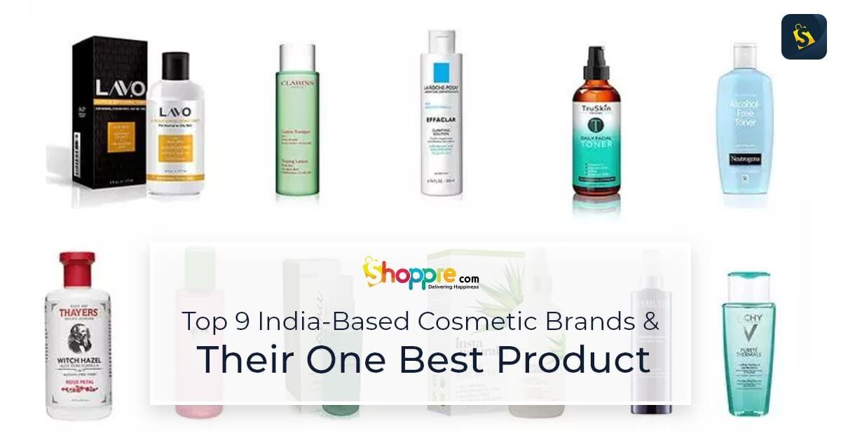 top 10 best cosmetics brands in india