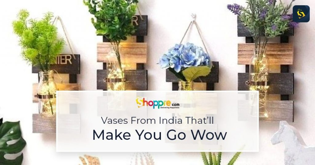 flower vases online shopping in india