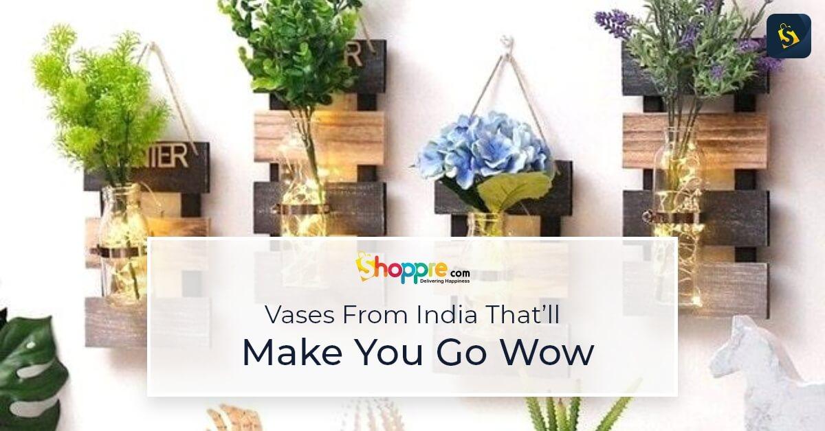 flower vases online shopping in india