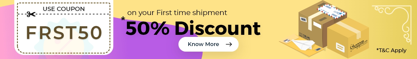 International Shipping Offer ShoppRe