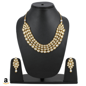 Gold-Plated Necklace Set With Earrings For Women Amazon