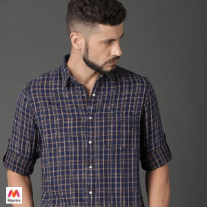 Roadster Men Shirt Myntra