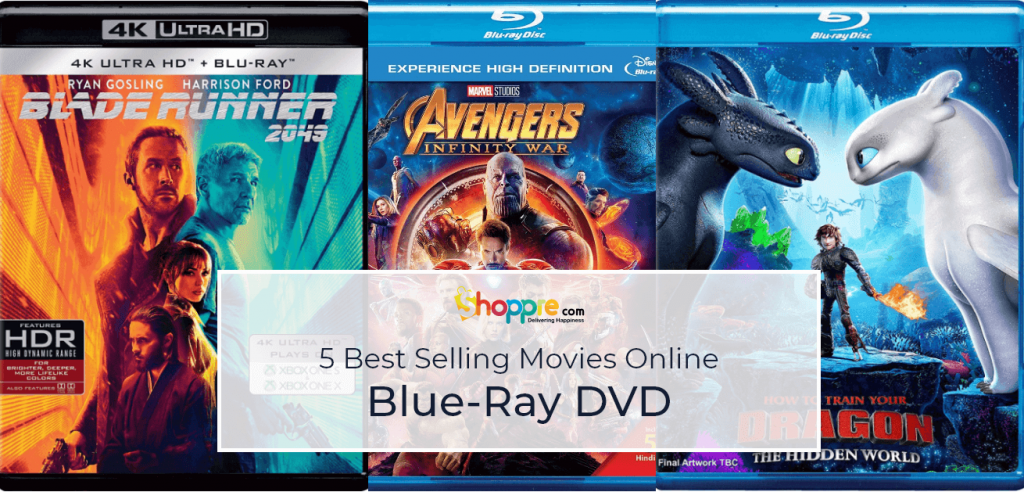 Best Selling Blu-Ray DVD from India