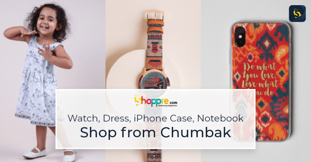 An array of unique and vibrant products from Chumbak