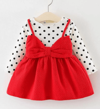 Red Dress for Girl from firstcry