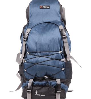 Bleu Blue & Black Hiking Rucksack