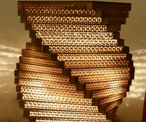 Sylvn Studio Helix Table Lamp Myntra