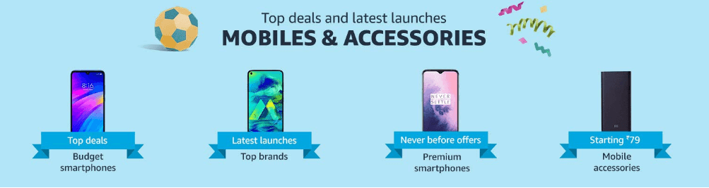 Mobiles and Accessories Prime Day 2019