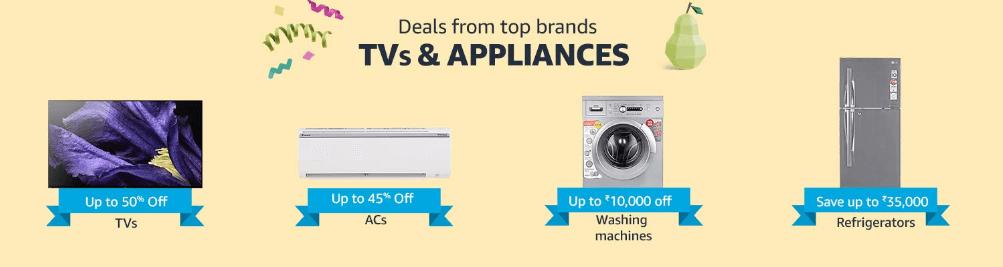 amazon india prime day tv shopping