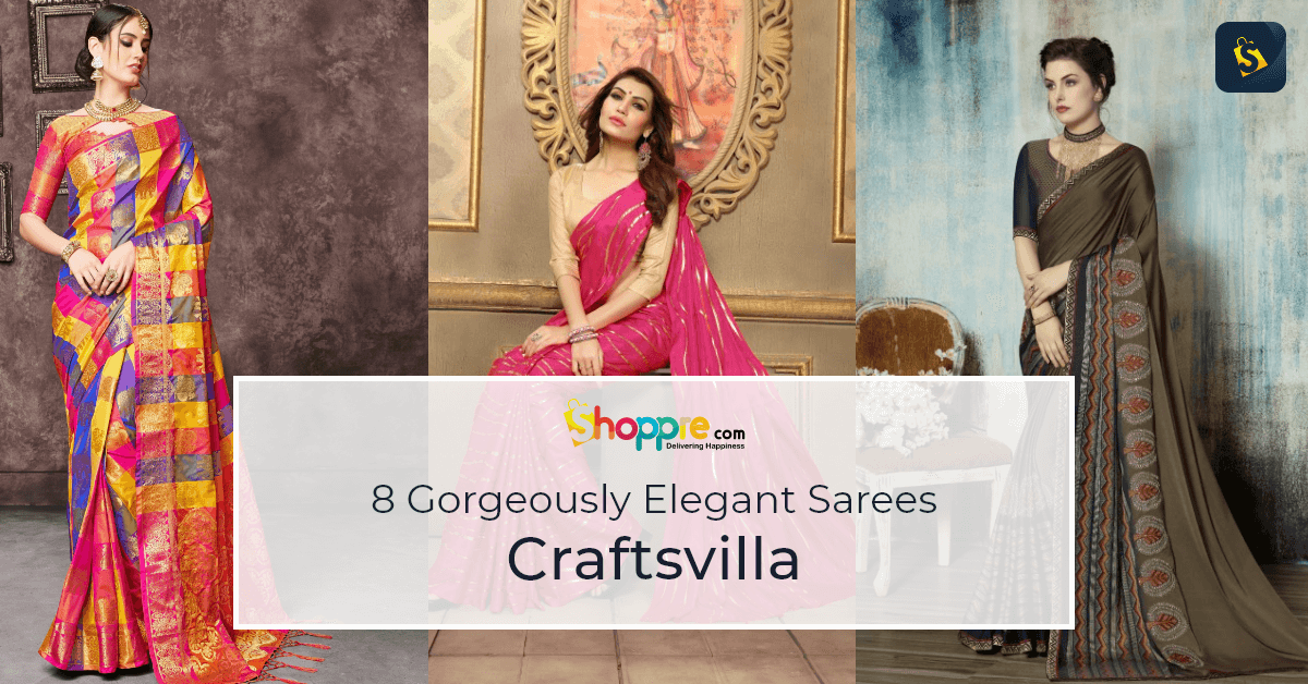 Crafsvilla online shopping cotton saree from india