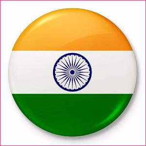 Indian National Flag - Badge