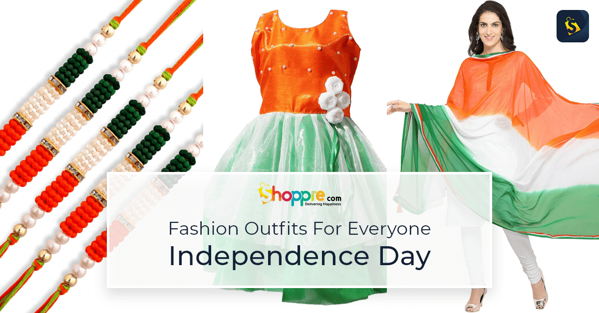 Independence day fashion outfits for everyone with some gifting ideas