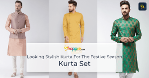 Stylish Kurta sets for men for festive occasions and events