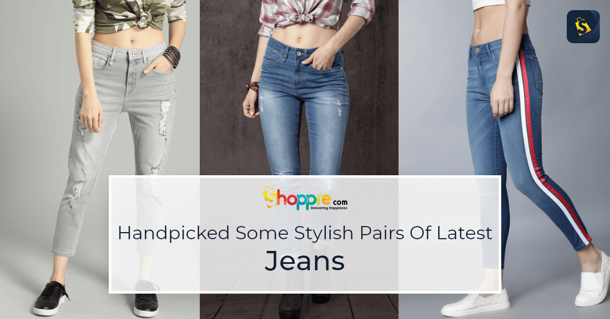 Shop for these latest jeans from Myntra and get them shipped worldwide with us