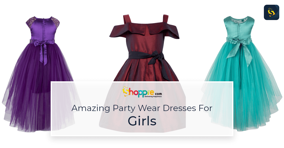 Buy latest and trendy dresses for girls from India