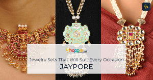 Necklace sets: Shop for traditional jewelry sets from Jaypore, India