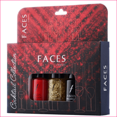 Faces Canada Nail Lacquer Kit Cocktail Collection
