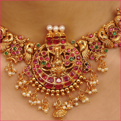 Sparkling Moments Pink Green Gold Tone Temple