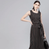 gerua-black-striped-midi-a-line-dress