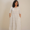 Cotton Dress - Ankle Length