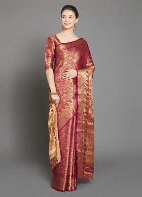 Shop Kanjeevaram Silk Sarees Online India