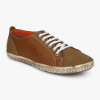 Men Brown Textured Sneaker Myntra