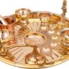 HAZZLEWOOD brass pooja set combo